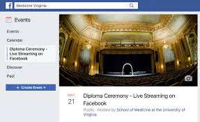 diploma ceremony live the class of 2017 diploma ceremony will be available on facebook live streaming live from the paramount theatre in downtown charlottesville virginia