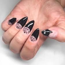 Solid Color Acrylic Nail Designs 28 Halloween Nail Art Ideas Cute Halloween Nail Designs