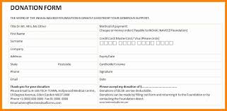 Donation Pledge Card Template 48 New Pledge Forms Template Easy