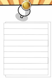 Blank List Memo Design Template Postermywall