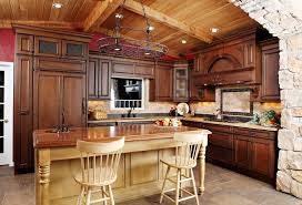 ... Small Kitchen Design On A Budget Or By Small Kitchen Remodel With Wood  Roof ...