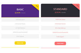 flat pricing tables design with css table design68 design