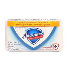 <b>Safeguard</b> Антибактериальное <b>мыло</b> Классическое, <b>5</b> х 75 г ...