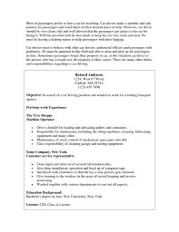 Bus Driver Cover Letter Resume Cover Letter