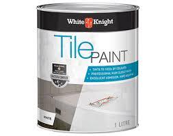 White Knight Tile Paint