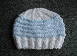 Newborn Knit Hat Pattern Interesting Decorating