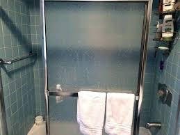 hard water stains on shower doors best way to clean glass shower doors with hard water