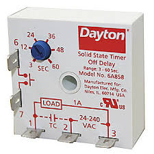 dayton encapsulated timer relay function off delay status encapsulated timer relay function off delay status indicator