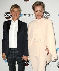 Ellen And Portia Ellen Degeneres And Wife Portia De Rossi Celebrate 8th Wedding