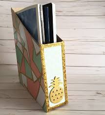 Magazine Holder From Cereal Box 100 Organizing Hacks Using Recycled Materials Cathie Filian 74
