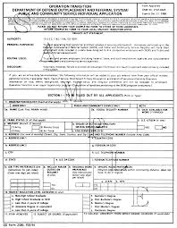 Dd Form 24 CFR Appendix A To Part 24 DD Form 24 Operation Transition 21