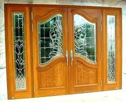 double entry doors double front doors with glass double entry doors with glass exterior double doors