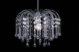 crystal droplet pendant clear by lightmode lmb005