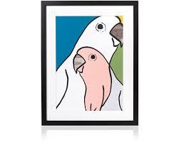 birds wall art a3