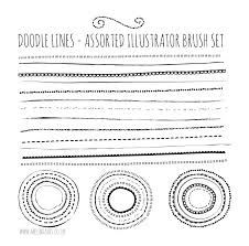 25 Adobe Illustrator Brush Sets You Can Download For Free