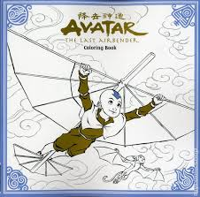 avatar the last airbender coloring book sc 2018 dark horse 1 1st