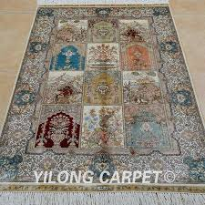 handmade oriental four season carpet exquisite garden rug persian rugs uk