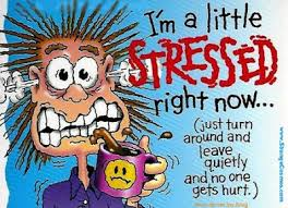 Image result for picture of stressed out woman cartoon