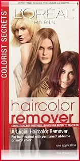 loreal hair color remover shoo 450270 amazon l oréal paris colorist secrets haircolor remover hair