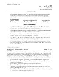 Controller Resume Examples Wonderful Resume Of Financial Controller Ideas Of Sample Resume Financial