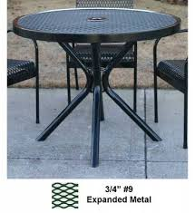 picnic tables patio tables and seating 30 48 round cafe table