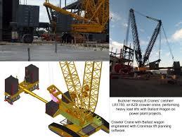 Liebherr Lr 1400 Load Chart Ballast Trays Vs Ballast Wagons Buckner Heavylift Cranes