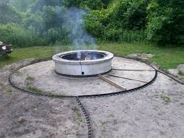 patio ideas with square fire pit. Full Size Of Paver Patio With Wood Burning Fire Pit And Cover On It Stone Ideas Square