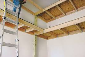 diy garage wall shelves