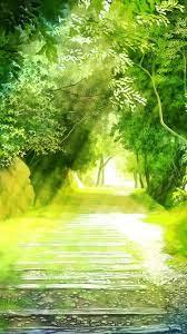 Green scenery ...