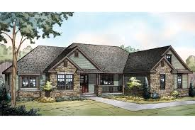 Ranch House Plans   Manor Heart     Associated DesignsRanch House Plan   Manor Heart     Front Elevation