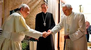 Image result for pope francis benedict