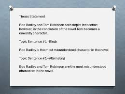 compare and contrast essay ppt video online  thesis statement boo radley and tom robinson both depict innocence however in the conclusion