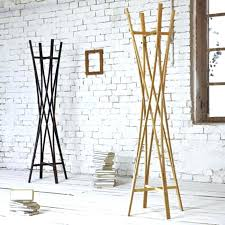 standing coat racks above designed by the helix shape of the coat rack can support a standing coat racks