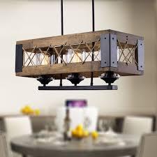 Rustic Wood Light Fixtures Inspiring Rustic Wood Lighting Home Brown Wall Lamp Light