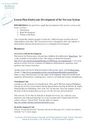 The Nervous System Coloring Worksheet Answers Anatomy And ...