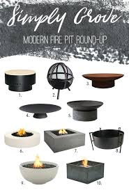 modern fire pit round up simply grove round fire pits fire pits canada