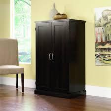 Sauder Bedroom Furniture Amazoncom Sauder Computer Armoire Cinnamon Cherry Finish