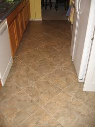 Kitchen Floor Tile Patterns Kitchen Floor Linoleum Over The Original Linoleum Floor Big No No