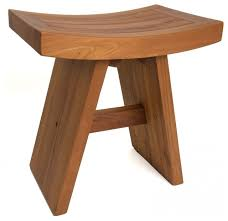 Asian Teak Shower Bench asian-shower-benches-and-seats