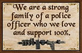 country rustic hard wood sign police