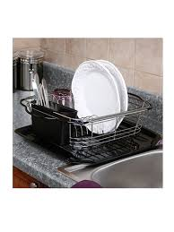 Kitchen Drying Rack For Sink 3 In 1 Dish Drying Rack For Small Counter Space Rltsource Llc