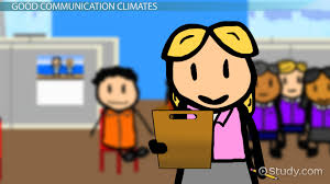 elements of effective communication in the workplace video communication climate definition concept