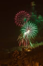 uaf photo by todd paris fireworks light up the sky above uaf s west ridge during the