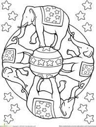 ancient india first grade s mandalas worksheets elephant mandala