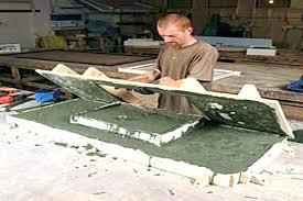 how to build concrete countertops making kitchen diy over granite laminate