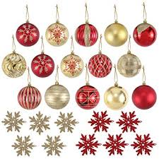 Decorating Christmas Ornaments Balls Amazon Joiedomi 100 Pack of Christmas Ball Ornaments Set for 36
