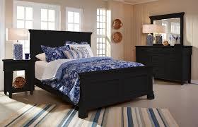 ravenswood 6 pc cal king bedroom set black