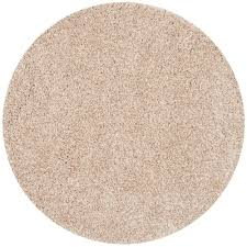 safavieh california beige 7 ft x 7 ft round area rug