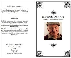 Funeral Templates Free Best 48 Funeral Program Templates Free Word PDF PSD Documents