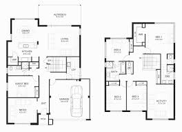 floor plans for homes gorgeous modern two story house floor plans home interior plans ideas